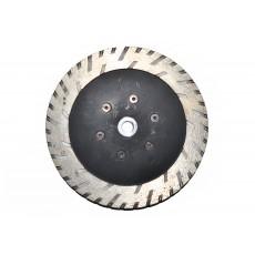 Сухоріз зачисний Ø180 мм фланець М14